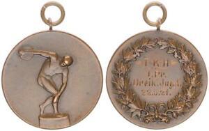 Sportmedaille Hannover 20iger Jahre vz     (48255)