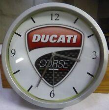 DUCATI pendule murale horloge 20cms  Monster Hyper supermotard Multistrada 996