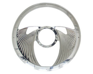 Half Wrap Steering Wheel -Eagle Polished BILLET SPECIALTIES 29825