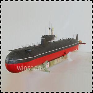 1: 200 Soviet K-278 Communist Youth League Model 685 Nuclear Submarine Paper Kit