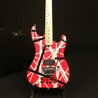 Handmade Painting Vintage 5150 Electric Guitar FR Bridge Dot Inlay Good Job