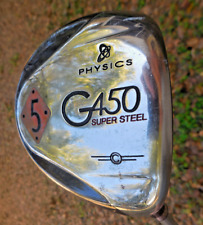 Physics G450 Fairway 5 Wood Super Steel Golf Club Ultrlight Mid-Flex Graphite