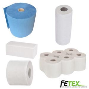 Putztuchrollen Papierhandtücher Toilettenpapier Klopapier Handtuchrollen | TOP