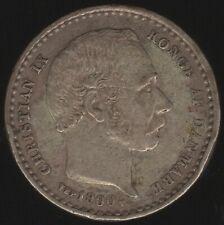 More details for 1900 vbp denmark christian ix silver 25 ore | european coins | pennies2pounds
