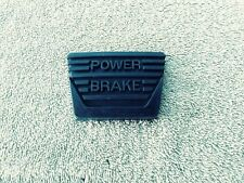 1962 - 67 CHEVY II NOVA CORVETTE Rubber Manual Trans Power Brake Pedal Pad - USA