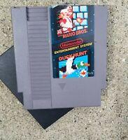 Vintage Mario Bros. / Duck Hunt (NES, Nintendo Entertainment System) 1985