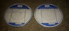 LOT OF 2 - Vintage Sears Du-All 8 Plastic Case & Reel Set VINTAGE ANTIQUE