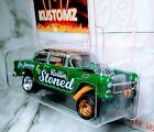 New! Hot Wheels.  Custom!!..Rollin Stoned....'55 Gasser...RRs..Zgrafx KusTomZ