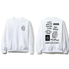 981a81d1a924 Anti Social Social Club ASSC Logo Bukake White Long Sleeve Tee Size S M L  XL XXL