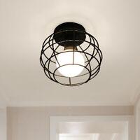 Metal Cover Modern Industrial DIY Ceiling Lamp Light Pendant Edison Chandelier