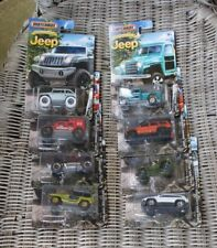 MATCHBOX JEEP ANNIVERSARY EDITION COMPLETE SET OF 8 NEW IN BOXES