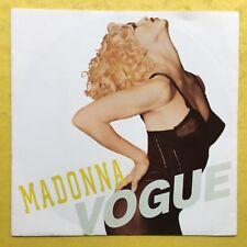 Madonna-Vogue/mantenerlo juntos-Sire W-9851 ex + condición