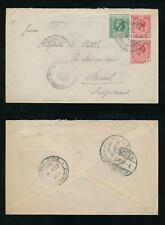GOLD COAST 1917 CENSOR CROWN CIRCLE AKROPONG DODOWAH to BASEL