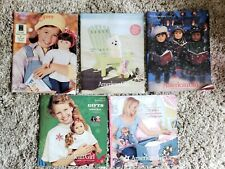 AMERICAN GIRL DOLL CATALOGS - LOT OF 5 FROM VARIOUS YEARS OLDEST 1997