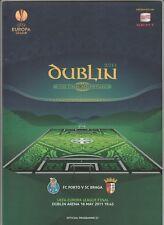 Orig.PRG   Europa League  2010/11  FINALE   FC PORTO - SC BRAGA  !!  SEHR SELTEN
