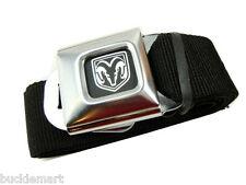 Official DODGE LOGO Seatbelt Seat Belt & BUCKLE Charger push  BuckleDown