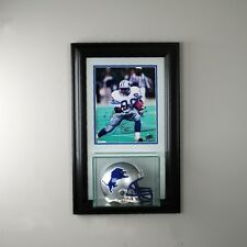 8x10 Picture frame w/ Mini Helmet Display Case UV New Glass NFL FREE SHIPPING