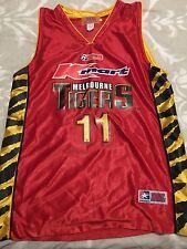 Melbourne Tigers NBL jersey | size large