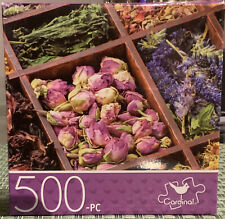 New Cardinal Jigsaw Puzzle Assorted Flowers 500 Pieces