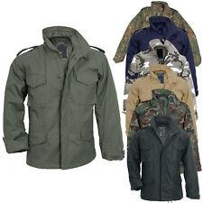 US Feldjacke M65 mit Futter S-7XL 7 Farben Army Parka Fieldjacket Jacke tarn