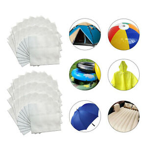 20/30x Inflatable Swimming Pool Patch Puncture Repair Tape Tent Leak Stops