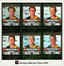 2001 Teamcoach Trading Cards Silver Regular Team set West Coast (6 )
