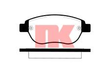 Bremsbelagsatz Scheibenbremse - NK 223740