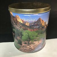 Trails End - Vintage Tin - Mountains and Desert