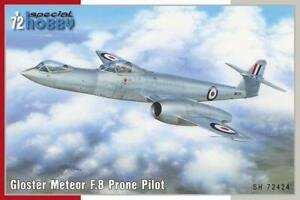 1/72 Special Hobby Models GLOSTER METEOR F.8 PRONE PILOT Version *MINT*