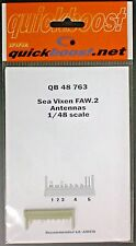 Quickboost 1/48th Scale Item No. 48763 Sea Vixen FAW.2 Antennas for Airfix Kit