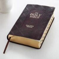 KJV Holy Bible, Giant Print Standard Bible, Red Letter ( Leather w Thumb Index )
