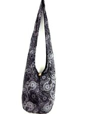BEACH BAG SLING SHOULDER THAI PAISLEY MEN UNISEX HOBO GYPSY SMALL BOHO LADY TRIP
