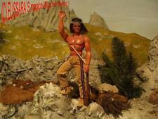Big JIM-Karl May Lone Wolf/WINNETOU-WESTERN-INDIANI MATTEL Apache ORO