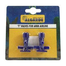 Algarde Válvula T para Línea de Aire de Acuario de 6 mm 5019614425005