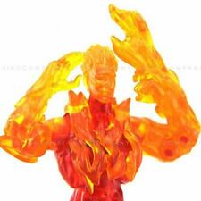 Marvel Legends Human Torch From Mr Fantastic 5.5'' Action Figure toy boys FW444