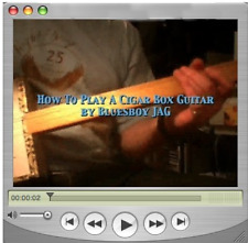 How To Play Cigar Box Guitar Instruction Cd