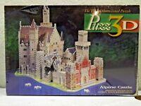 Puzz 3D Alpine Castle 1000 Piece 3D Puzzle New Sealed Milton Bradley Puzzle