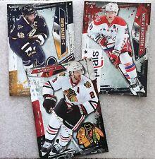 Fathead Hockey Sticker Lot Backes, Backstrom & Keith, Blues Capitals Blackhawks