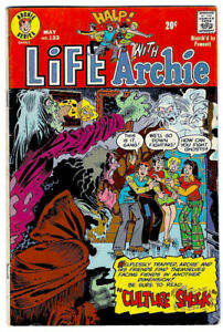 LIFE WITH ARCHIE #133 in VG/FN a 1973 Bronze Age Archie comic  HORROR issue