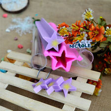 Big Star Tube Pipe Silicone Soap Moulds Making Tools Craft Cutter Molds
