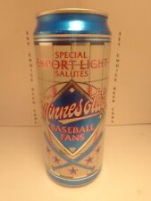 SPECIAL EXPORT LIGHT 16oz ALUM STAY TAB BEER CAN #5  MINNESOTA'S BASEBALL FANS
