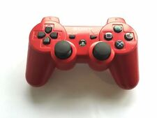 Official Genuine Original Sony Dual Shock 3 PS3 Controller Red