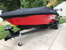 Four Winns Boat Cover 2008-2012 200 Horizion w Ameritex Windshield Mooring Black