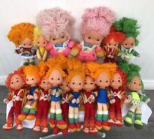 Vintage 1983 Hallmark Mattel Rainbow Brite & Friends Lot Of 16 Dolls Wow!