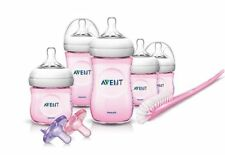 Phillips Avent Natural  Infant Starter Set Pink  SCD296/11