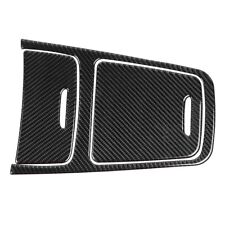 Carbon Fiber Central Console Panel Cover for Mercedes A Class CLA GLA 13-19