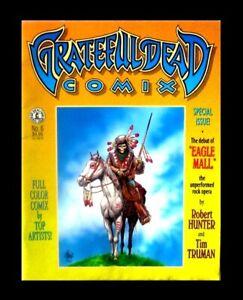 GRATEFUL DEAD COMIX #6, 1992, FIRST EDITION, KITCHEN SINK, MAGAZINE SIZE UNDERGR