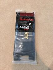 New Adams Adult Blocking Football Rib Vest Black 1525 L New