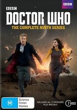 DOCTOR Dr WHO Complete 9th Series Season 9 R4 DVD Box Set New & Sealed