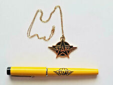 1970's STARZ Rock Group Promo Necklace and Parker Pen
